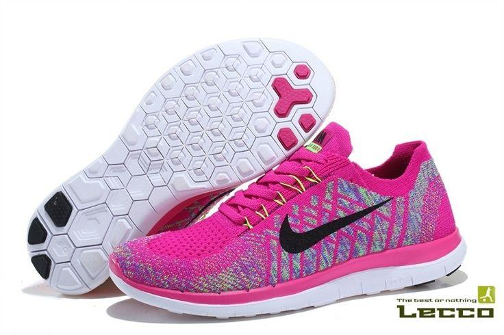 Обувь Женские кроссовки Nike Free 4.0 Flyknit Rose
