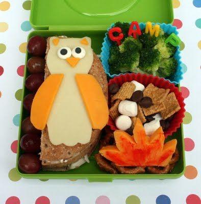 O.W.L. Camp Bento Lunch: Fun Food, Bento Lunch, School Lunch, Lunch Ideas, Owl, Kids Lunch