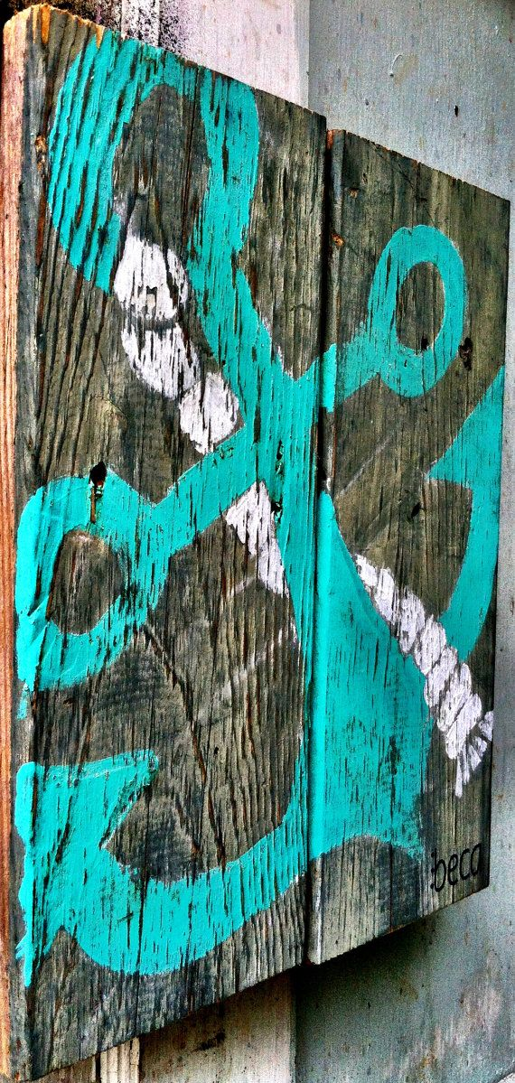 Hey, I found this really awesome Etsy listing at http://www.etsy.com/listing/162253212/anchor-on-reclaimed-wood