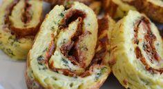 Kartoffelroulade med bacon