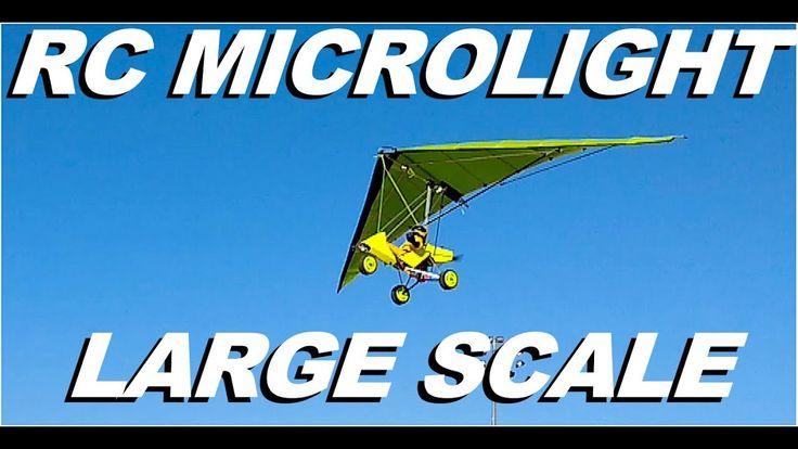 RC Microlight Large Scale RC Microlight Ultralight Trike Kit