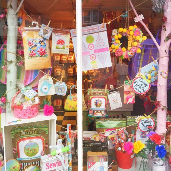 #Mother's #Day #shop #window at The Gilliangladrag Fluff-a-torium in #Dorking