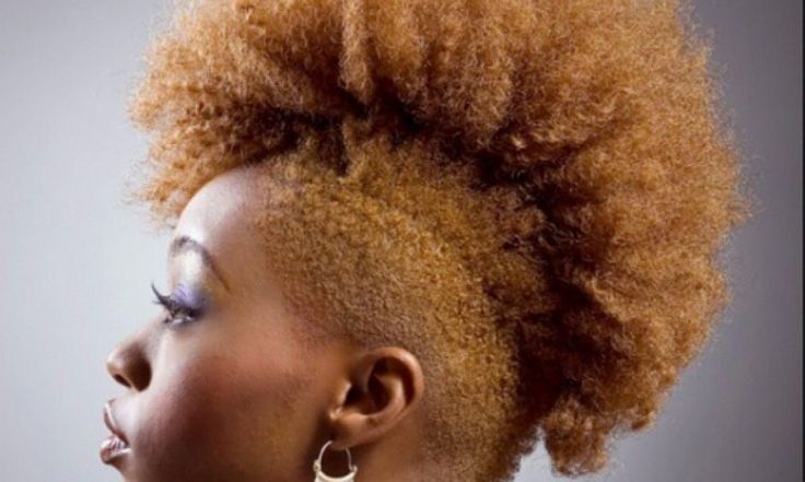10 Mohawk hairstyles for Natural Hair