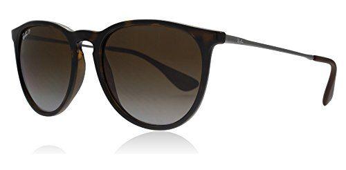c0513cb1c863 Ray-Ban RB4171 710 T5 Tortoise Erika Round Sunglasses Polarised Lens  Category 3