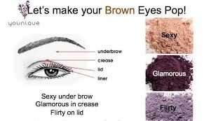 Beautiful #purple shades to make your #browneyes stand out in a crowd!