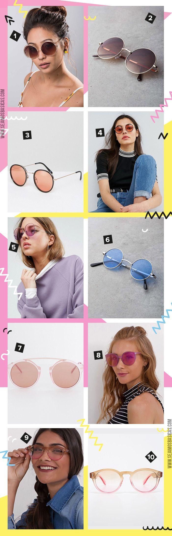 onde comprar óculos lentes coloridas e transparentes