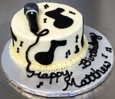 Music Theme Cake Unique Kids Birthday Cakes Volume 2