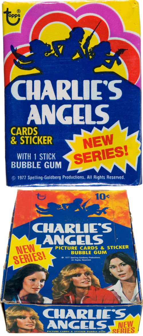 1977 Charlie's Angels Trading Cards, Sticker & Bubble Gum. My husband called me his Kate Jackson. The resemblance was amazing; walking down the street, I couldn't avoid the stares...unreal!
