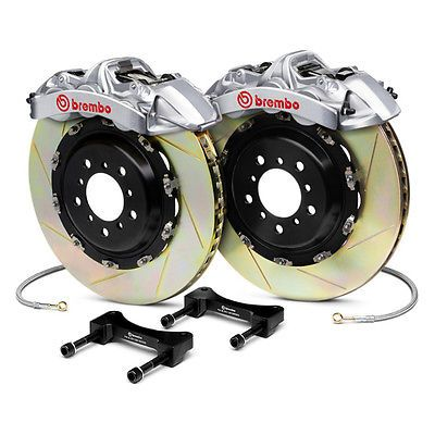 Brembo 1N2.9028AR - GT-R Series Slotted 2-Piece Rotor Front Big Brake Kit