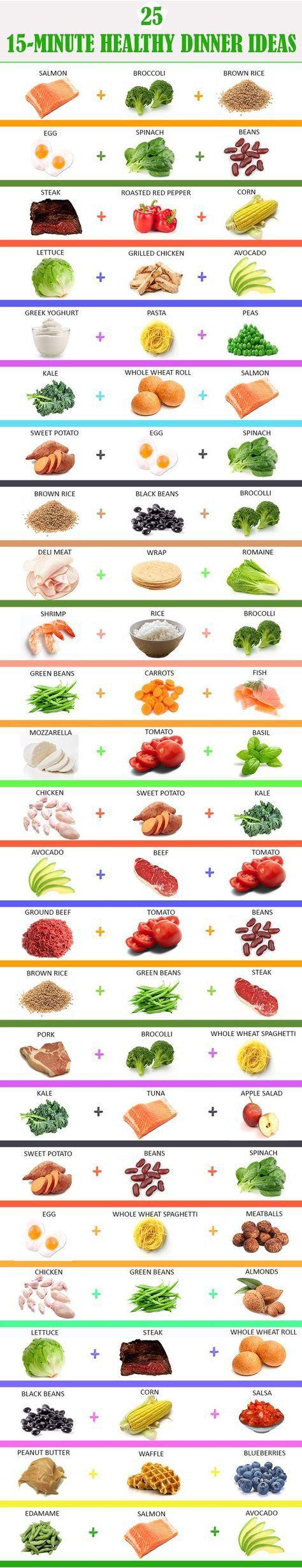 Eat healthy and drink apple cider vinegar for optimal health.