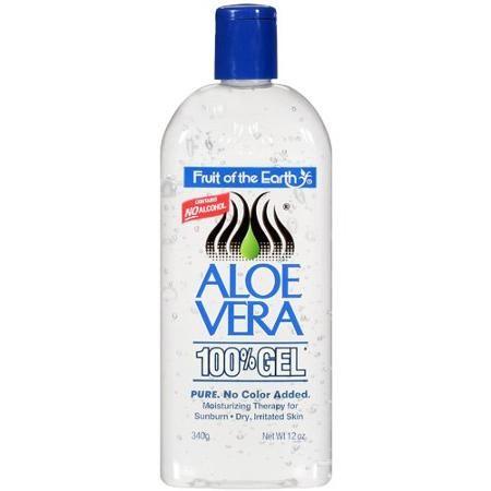 Many uses for Aloe Vera Gel: Use instead of deodorant, moisturizer, dry skin, Eczema, Psoriasis, Bug Bites, minor burns, radiation burns, hair gel, anti-aging...to name a few