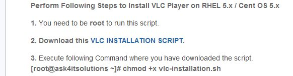 How to Install Vlc Media Player Easily on RHEL 5 / CENTOS 5 -- via wikiHow.com