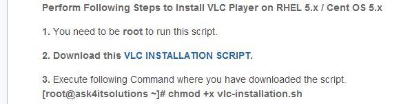 How to Install Vlc Media Player Easily on RHEL 5 / CENTOS 5 -- via wikiHow.com