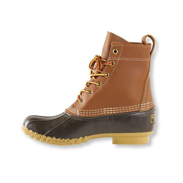"""Women's L.L.Bean Boots, 8"""" Thinsulate ($109) ❤ liked on Polyvore featuring shoes, boots, l.l. bean boots and l.l.bean"""