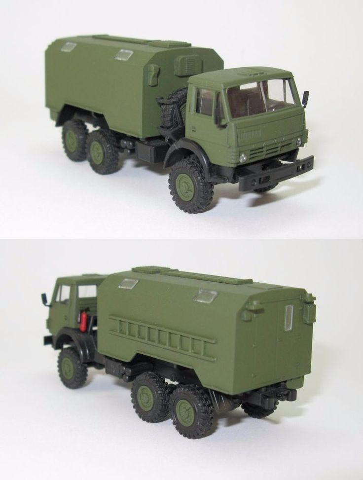 KamAZ 43101 Koffer Militär NVA UdSSR - 1:87 HO
