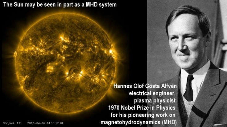 Alfvén , pionnier de la MHD