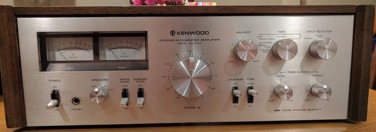 Vintage Kenwood KA-6100 Stereo Integrated Amplifier Amp   eBay