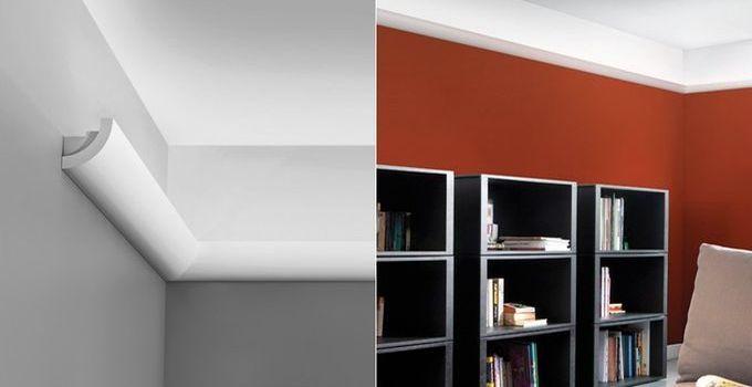 Malerische_Wohnideen - Stuckleisten Lichtleisten Wandgestaltung LED 03a