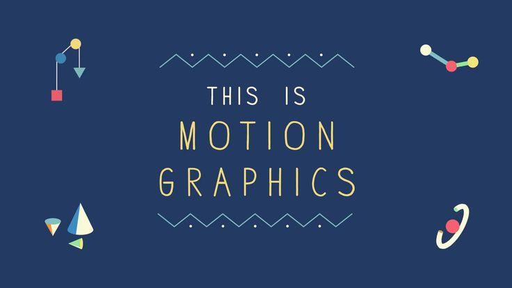 This is Motion Graphics ! 모션그래픽에 관한 이야기를 풀어낸 영상 아기자기하면서도 보기좋고 구성도 좋다. 다양하고 재밌다
