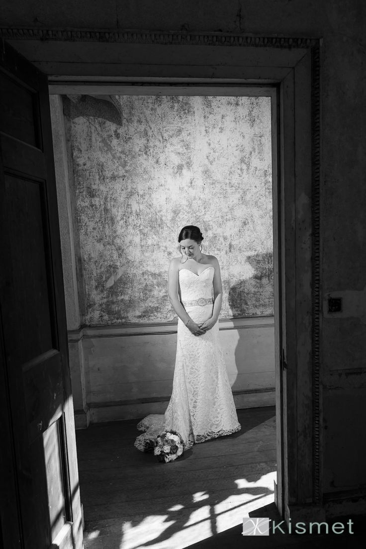 The bride has a quiet moment. One of our recent #countryhousewedding
