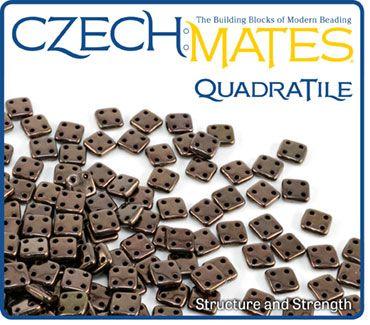 CzechMates QuadraTile Dark Bronze