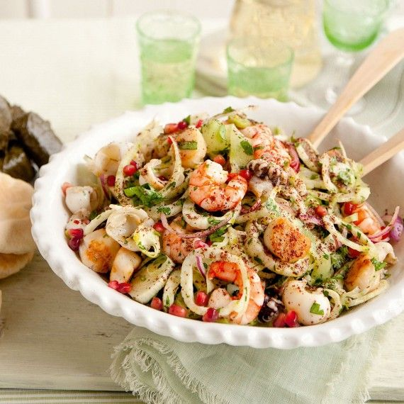Seafood and fennel salad recipe - Woman And Home