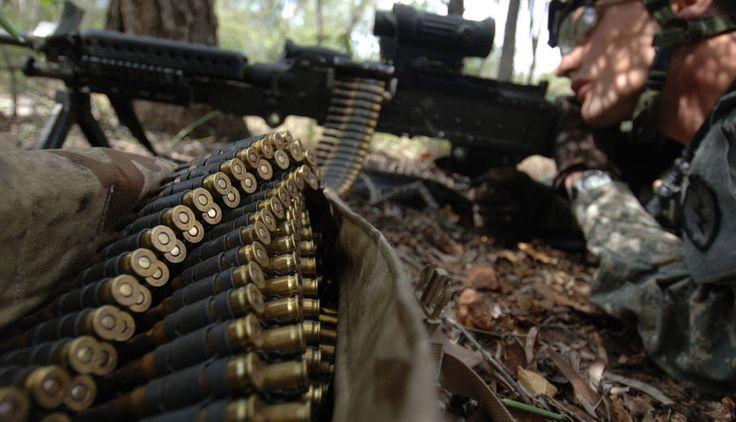 Armas de guerra: M240B, ametralladora del Ejército de USA | FOTOS