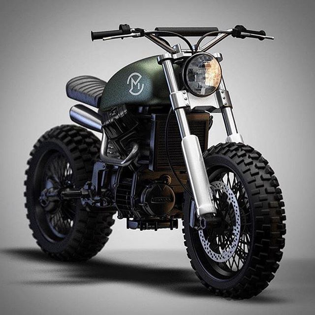 Honda Cb550 Scrambler by Ziggy Motorcycles. by gracieMax Clancy