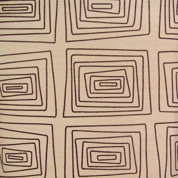 Rare Vintage Angelo Testa Textura Quatra Fabric Remnant on Etsy, $350.00