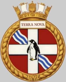 dde 259 hmcs terra nova crest insignia patch badge destroyer escort royal canadian navy