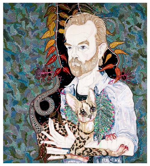 Del Kathryn Barton Archibald Prize 2013