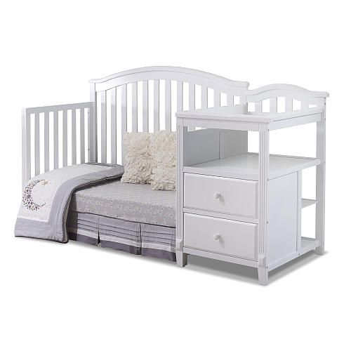 Top 25 Ideas About Crib With Changing Table On Pinterest