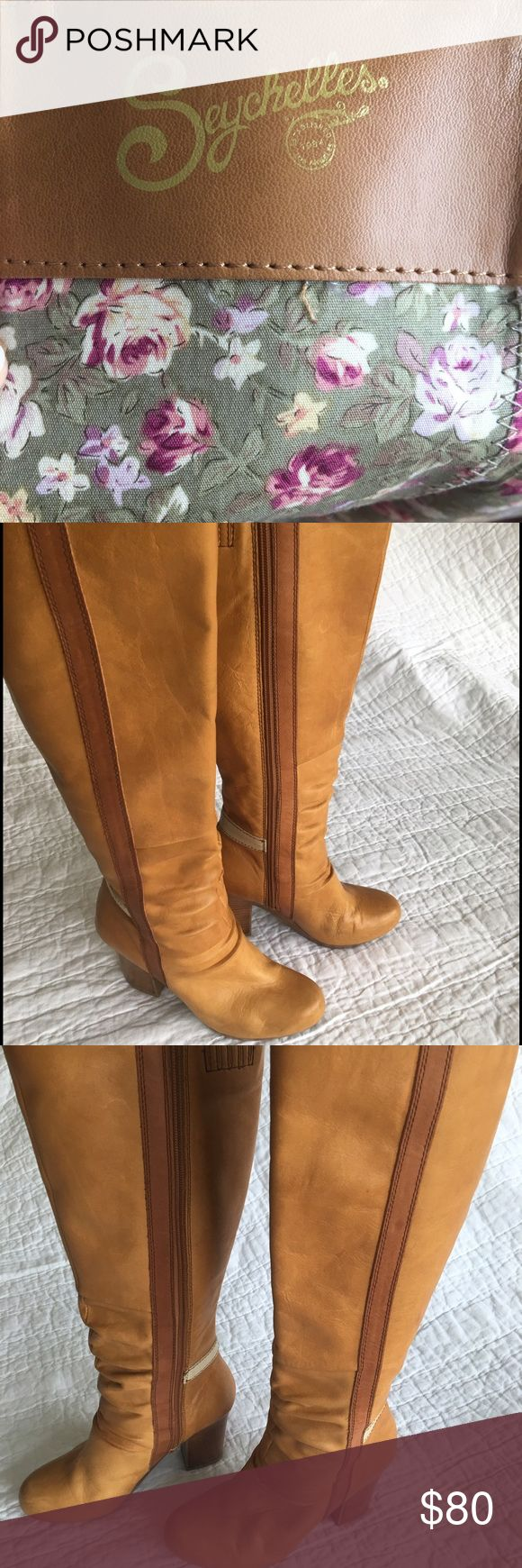 Seychelles boots Size 7 leather Seychelles boots Seychelles Shoes Heeled Boots