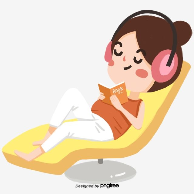 36++ Person listening to music clipart info