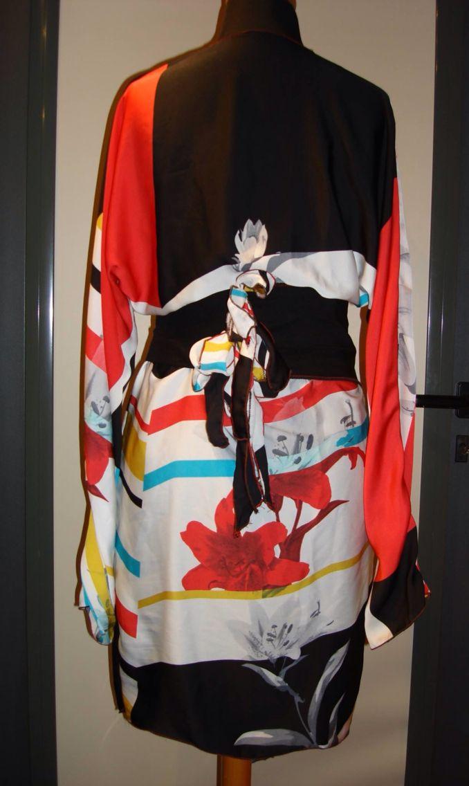 Kimono inspired back