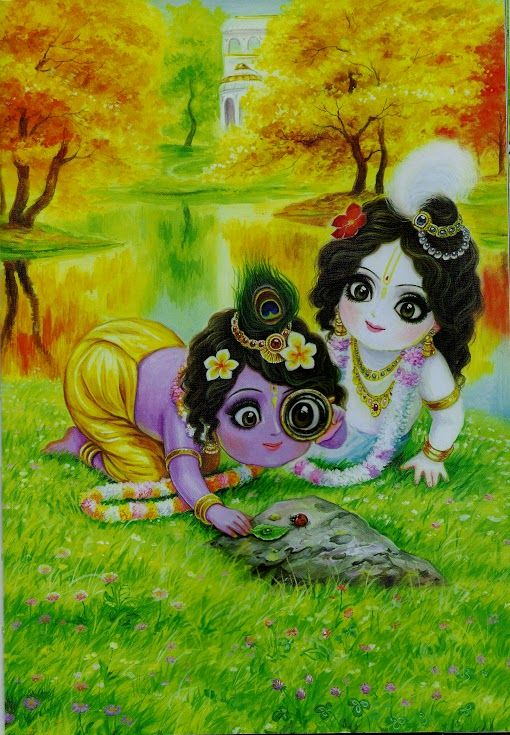 Krishna Balarama kids