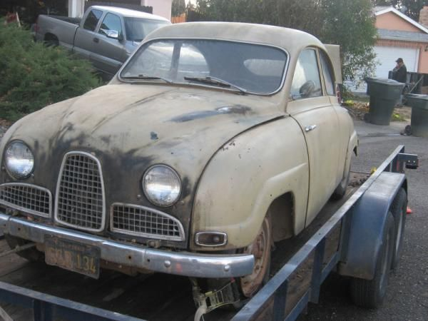 Rust in Peace: 1960 SAAB 93