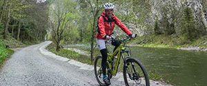 Szczawnica - Pieniny, nie ma tu wielu tras, ale pomysł na 3 dni rowerowe się znajdzie, poza tym można te same trasy przebiec albo pójść na Trzy Korony przez Sokolicę