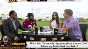 Josh Norman Confronts Max Kellerman About His ?Take?