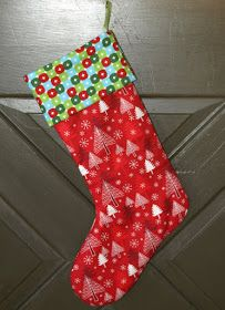 FabricWorm: Reposting! Christmas Stocking Tutorial by Melissa Lunden