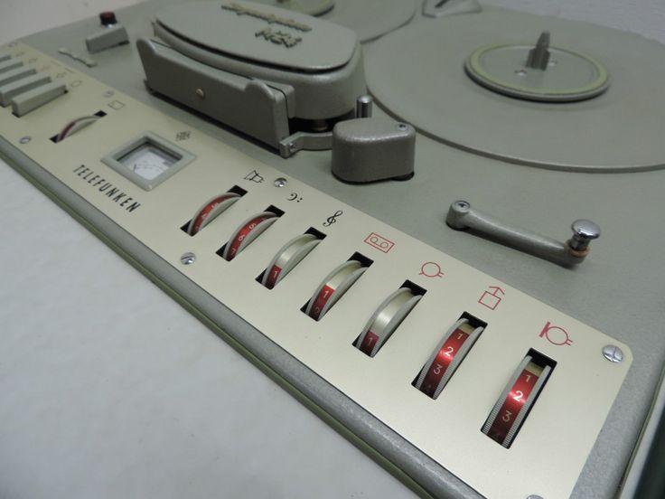 Röhren-Tonbandgerät Telefunken M24 Magnetophon | eBay