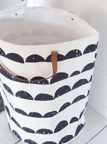Korg, väska i ekologisk bomull