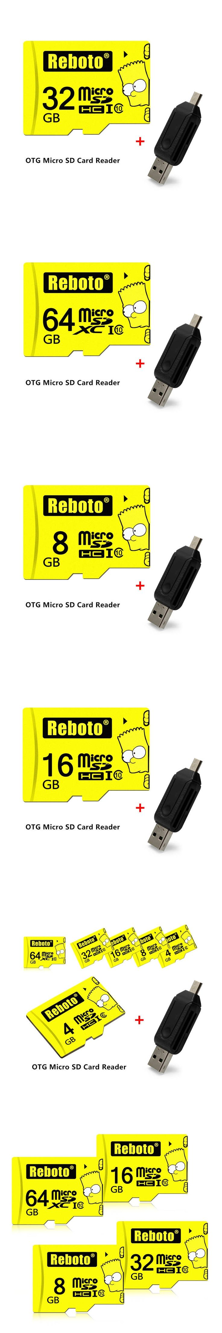 Real Capacity Pen Drive 32GB 64GB Memory Card SDHC/SDXC Class10 Cartoon Simpson Micro SD cards 4GB 8GB 16GB TF Card