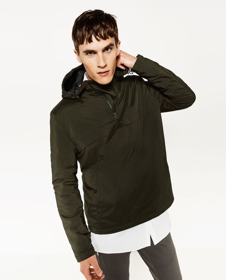 Image 1 of QUILTED OVERHEAD JACKET from Zara