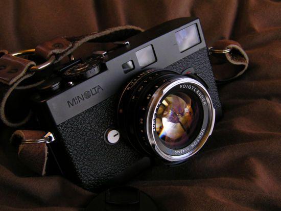 Minolta CLE + Voigtlander Nokton 35mm f1.4 Classic