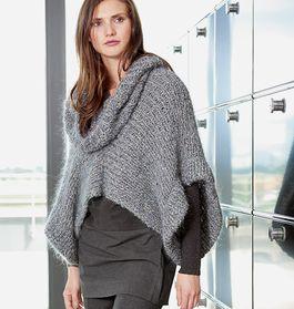 DIY-Anleitung: Pullover mit weitem Rollkragen und Fledermaus-Ärmeln selber stricken via DaWanda.com