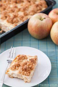 Apfel-Schmand-Kuchen mit Streusel