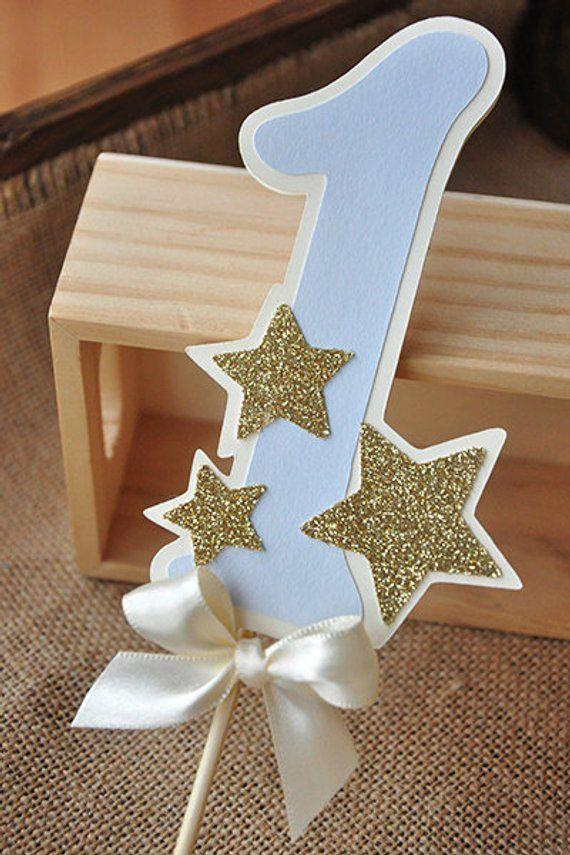 Twinkle Twinkle kleiner Stern Kuchendeckel. Pastell blau | Etsy