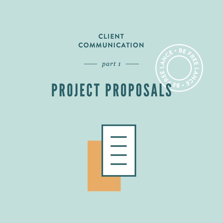 How to create a successful client project proposal. Great tips for freelancers and creative entrepreneurs!