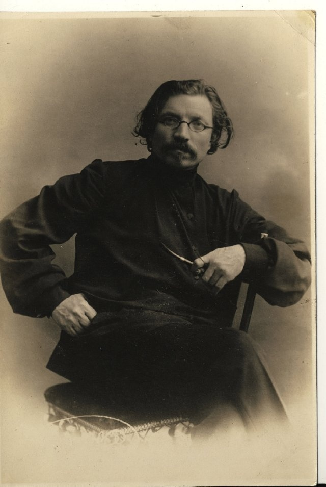 """Sholem Aleichem as a young man 